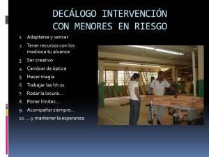 DECALOGO INTERVENCION