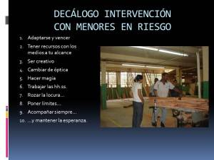 DECALOGO INTERVENCION